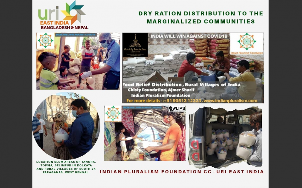 Indian Pluralism Foundation Distributes Supplies to Needy Families