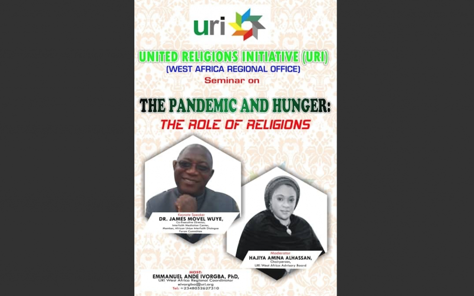 The Pandemic and Hunger: The Role of Religions